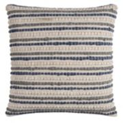 Rizzy Home Stripe Textured Throw Pillow