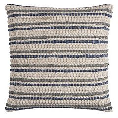 Rizzy Home Stripe Textured Throw Pillow