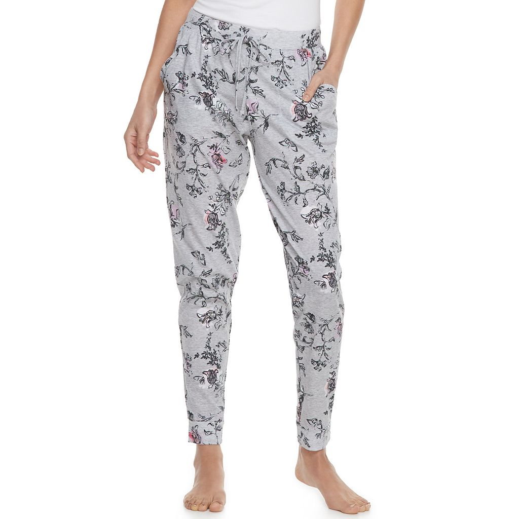 Women's SONOMA Goods for Life™ Printed Jogger Lounge Pants