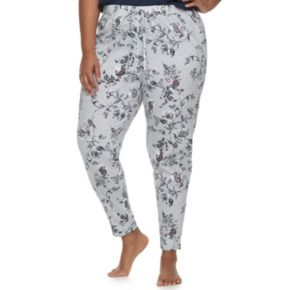 Plus Size SONOMA Goods for Life? Printed Jogger Lounge Pants