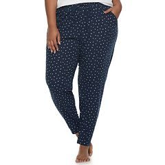 Plus Size SONOMA Goods for Life™ Printed Jogger Lounge Pants