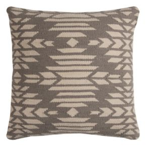 Rizzy Home Southwestern Woven Embroidered I Throw Pillow