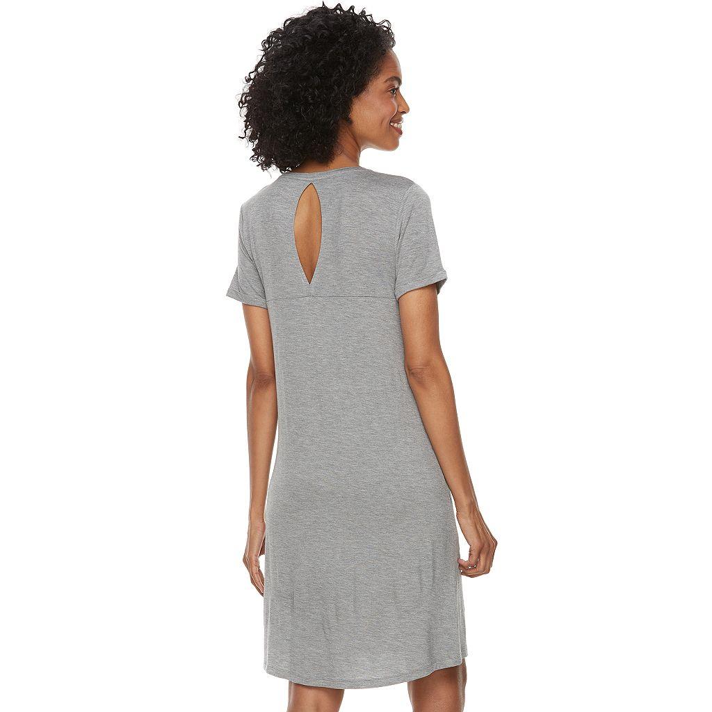 Women's SONOMA Goods for Life™ Keyhole Sleep Shirt