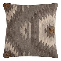 Rizzy Home Southwestern Woven Embroidered II Throw Pillow