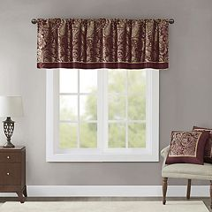 Madison Park Churchill Jacquard Window Valance