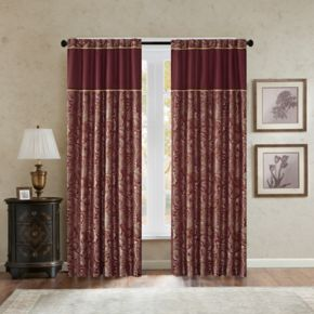 Madison Park Churchill Jacquard 2-pack Window Curtains