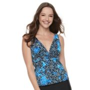 Women's Trimshaper Katie Bust Enhancer Tankini Top