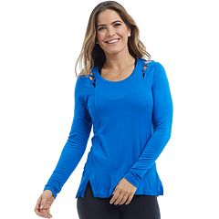 Women's Balance Collection Sloan Strappy Long Sleeve Tee