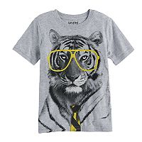 Boys 4-10 Jumping Beans® Tiger in Glasses Graphic Tee