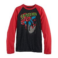 Boys 8-20 Spiderman Graphic Tee
