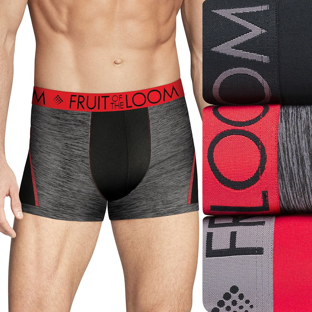 5cb25c46312c0e Men's Fruit of the Loom Signature Performance Short Leg Boxer Brief ...