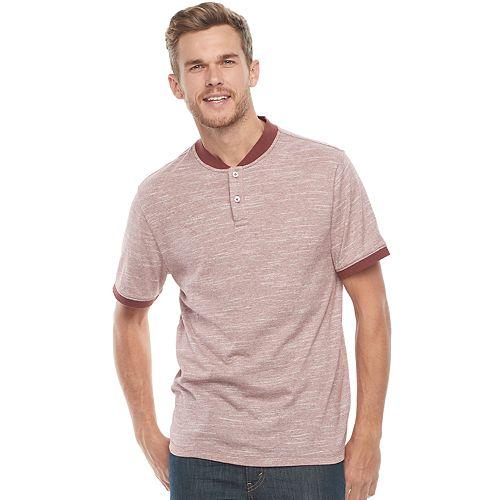 Men's Method Regular-Fit Half-Collar Henley