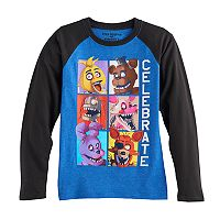 Boys 8-20 Five Nights at Freddy's Graphic Tee