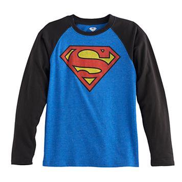 Boys 8-20 Superman Graphic Tee