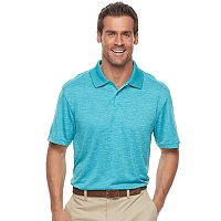 Men's Haggar® Regular-Fit Solid Textured Performance Polo