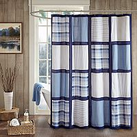 Woolrich Huntington Cotton Pieced Shower Curtain