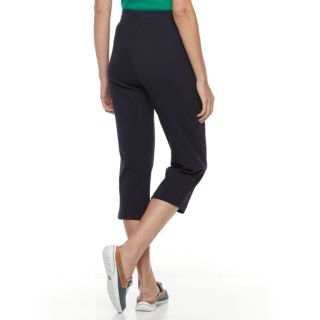 Women's Croft & Barrow® Drawstring Capri Pants