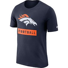 Men's Nike Denver Broncos Football Logo Tee
