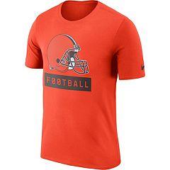 Men's Nike Cleveland Browns Football Logo Tee