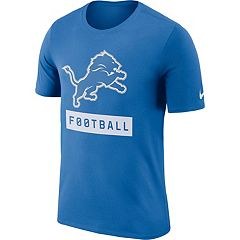 Men's Nike Detroit Lions Football Logo Tee