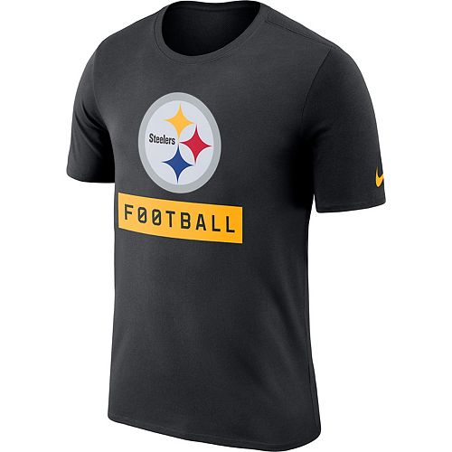 4fed1d50766 Men s Nike Pittsburgh Steelers Football Logo Tee