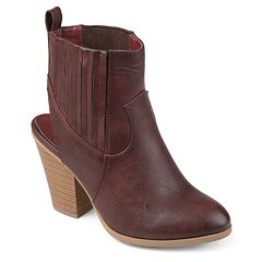 Journee Collection Neri Women's Slingback Ankle Boots
