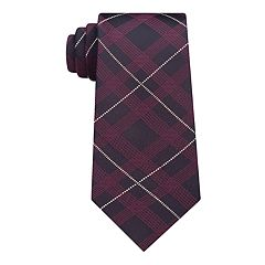 Men's Van Heusen Metallic Skinny Tie with Tie Bar