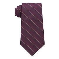 Men's Van Heusen Metallic Skinny Tie with Tie Bar