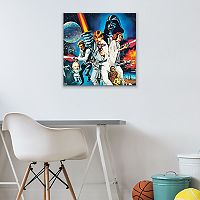 Star Wars Episode IV Canvas Wall Art