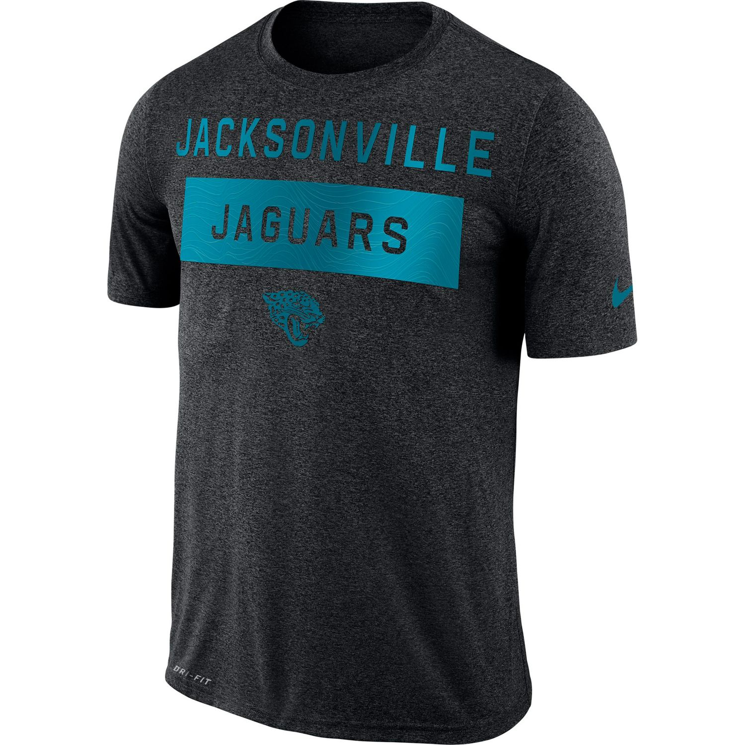 High Quality Menu0027s Nike Dri FIT Jacksonville Jaguars Tee