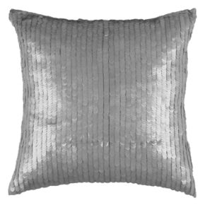 Rizzy Home Solid Sequin Detailed Throw Pillow