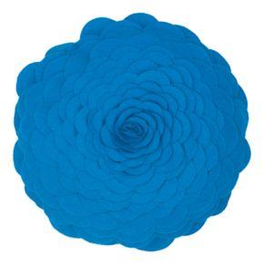 Rizzy Home Floral Pieced Applique Throw Pillow