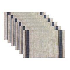 Hotel Border Placemat 6-pk.