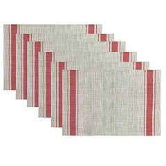 Hotel Border Placemat 6 pk
