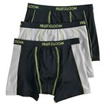 Boys 4-20 Fruit of the Loom 3-Pack Breathable Flex Boxer Briefs