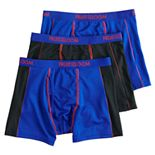 Boys 4-20 Fruit of the Loom® 3-Pack Breathable Flex Boxer Briefs