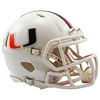 Riddell NCAA Miami Hurricanes Speed Mini Replica Helmet