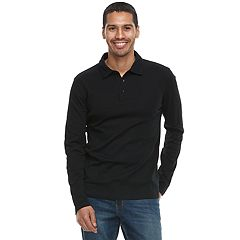 Men's Apt. 9® Slim-Fit Stretch Soft Touch Slubbed Polo