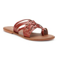 Women's SONOMA Goods for Life™ Toe Loop Huarache Sandals