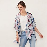 Women's LC Lauren Conrad Floral Kimono