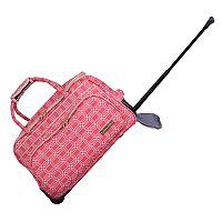 Jenni Chan Hanover Carry-All Wheeled Duffel Bag