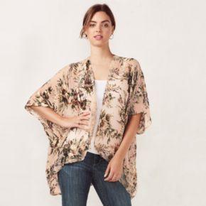Women's LC Lauren Conrad Romantic Floral Kimono