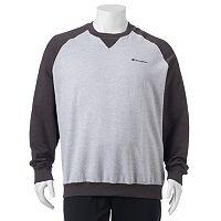 Big & Tall Champion Raglan Fleece Sweatshirt