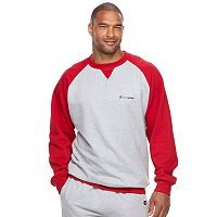Big & Tall Champion Raglan Fleece Sweatshirt