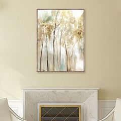 Artissimo Designs Sapling Canvas Wall Art
