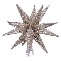 Kurt Adler Glittery Star Christmas Tree Topper