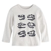 Toddler Boy Jumping Beans® Dinosaur Skulls Long Sleeve Graphic Tee