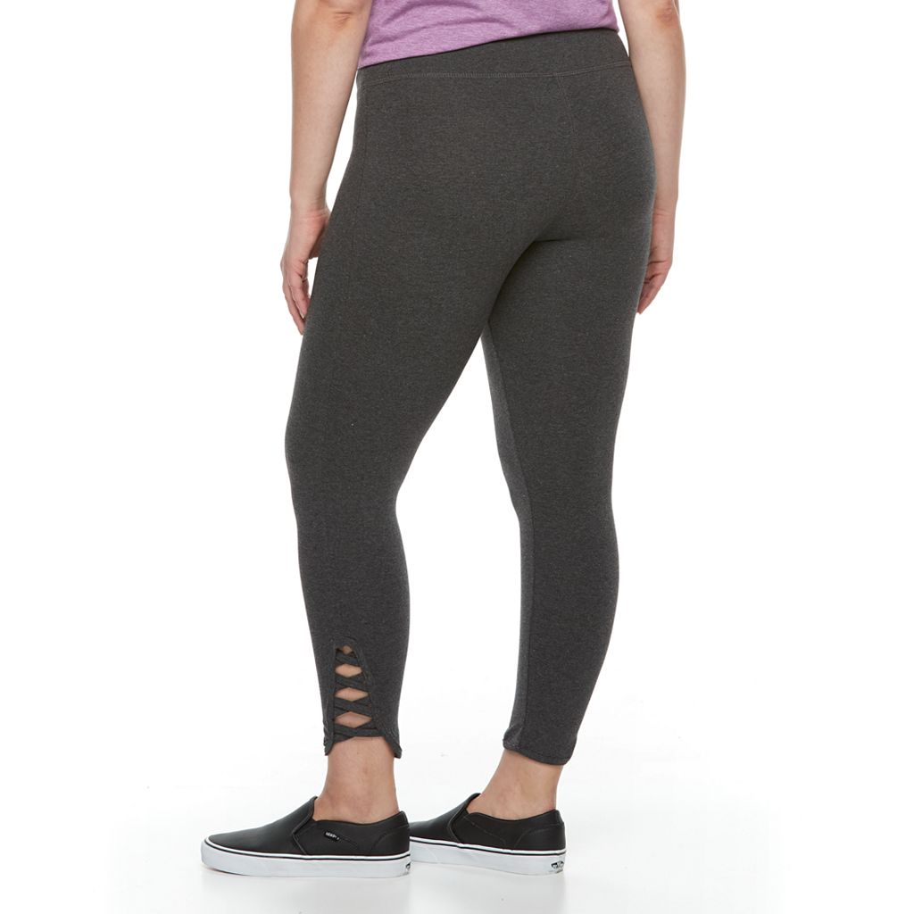 Plus Size French Laundry Crisscross Leggings