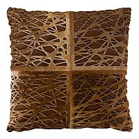 Safavieh Eccentric Cowhide Throw Pillow