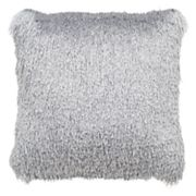 Safavieh Soleil Shag Indoor Outdoor Throw Pillow